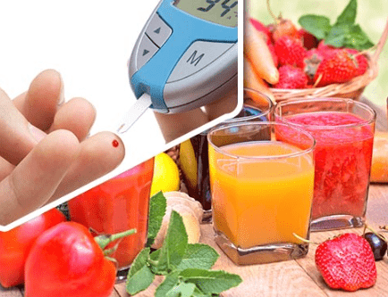 JUICES AND JUICE DRINKS and Diabetes