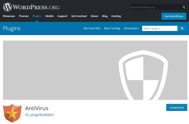 AntiVirus for WordPress Plugin