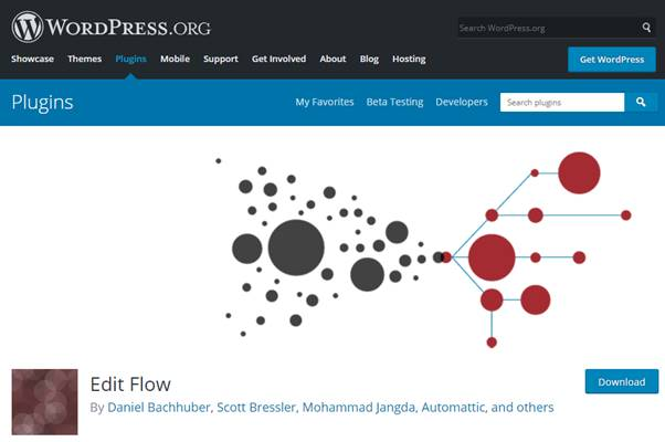Edit Flow Plugin (WordPress)