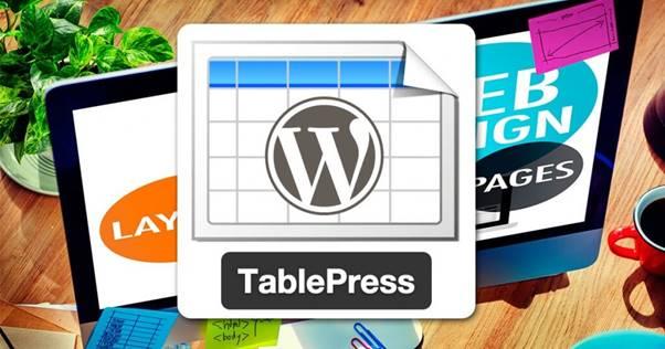 TablePress Plugin (WordPress)