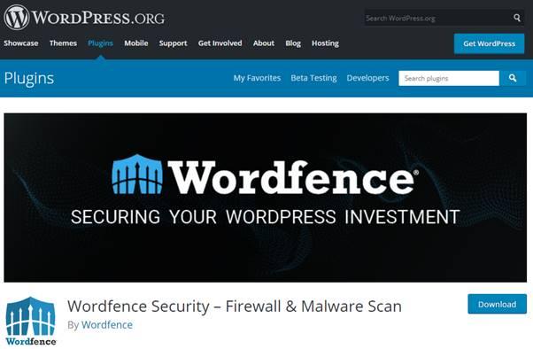 WordFence Plugin (WrodPress)