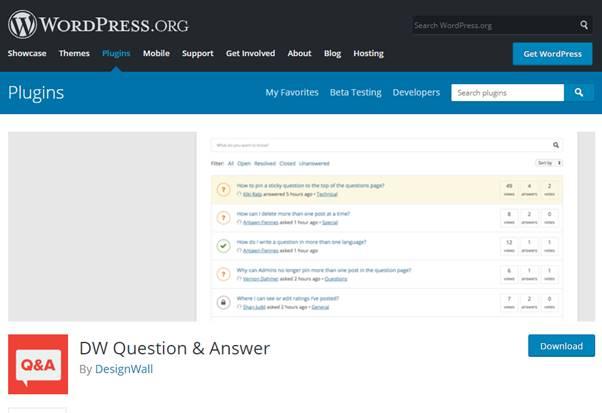 DW Question Answers (WordPress Plugin)
