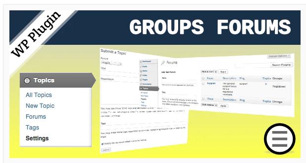 Groups Forums (WordPress Plugin)