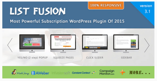 List Fusion – Best PopUp and Lead Generation WordPress Plugin