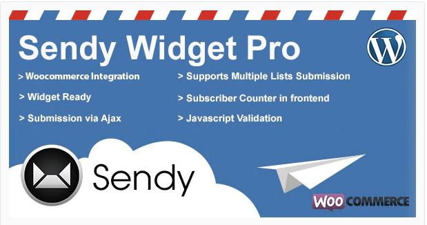 Sendy Widget Pro Newsletter Plugins For WordPress