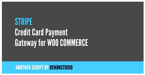 Stripe Credit Card Gateway For WooCommerce WordPress Plugin