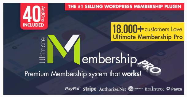 Ultimate Membership Pro WordPress Plugin WordPress Plugin