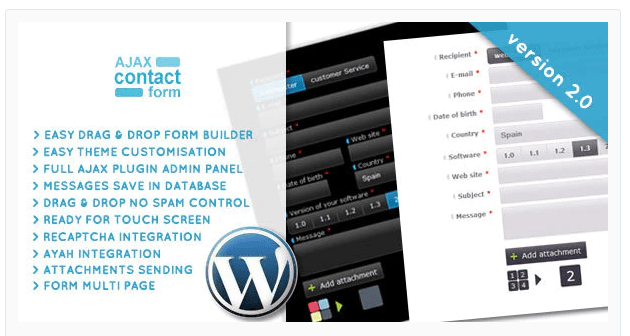WordPress Ajax Contact Form