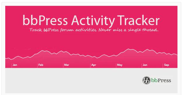 bbPress Activity Tracker (WordPress Plugin)
