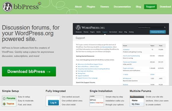 bbPress (WordPress Plugin)