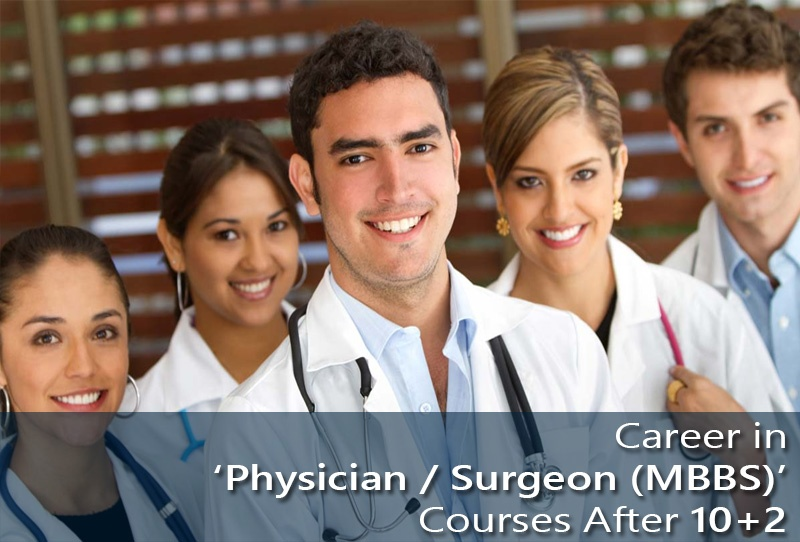 Career in Physician Surgeon (MBBS) Course After 10+2