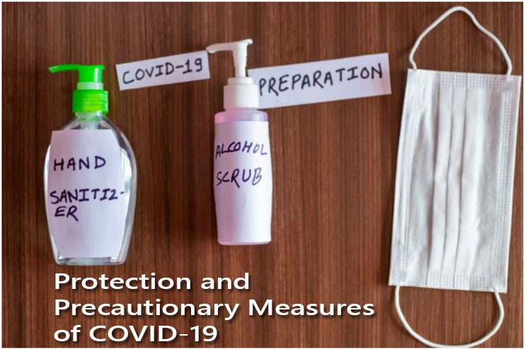 Protection and Precautionary Measures of COVID-19