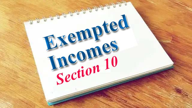 Exempted Income U/s 10