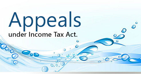 Appeals under Income Tax Act