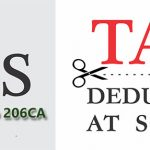 Deduction of Tax at Source-TDS