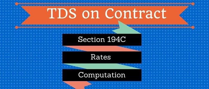 TDS on Payment to Resident Contractor (Section 194C)