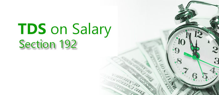 TDS on Salary-Section 192